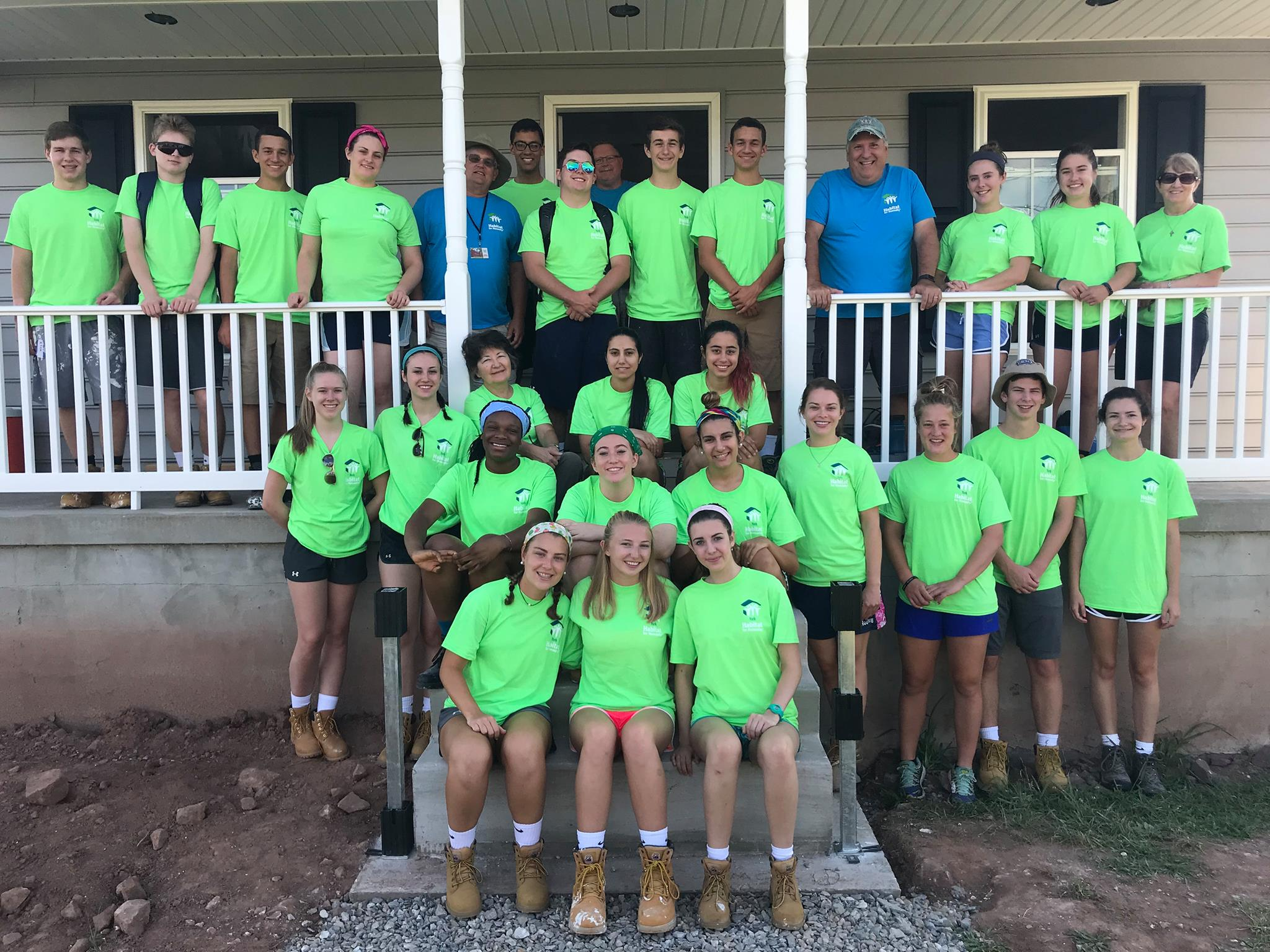 Habitat for Humanity Work Camp
