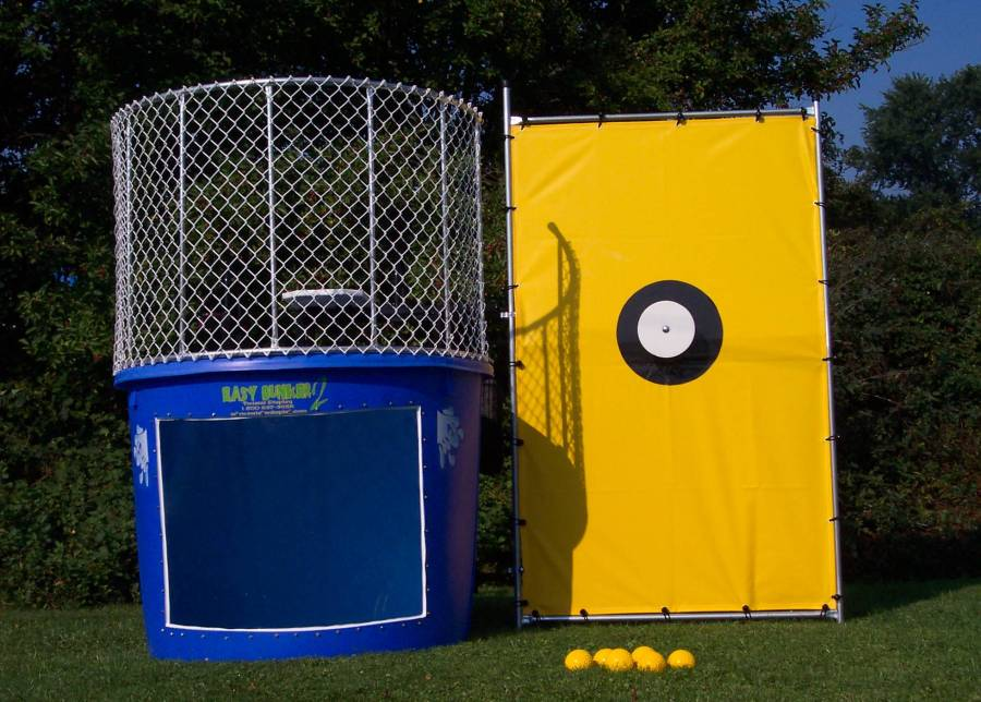 CYM Dunking Booth at the Clarksville Picnic - June 30